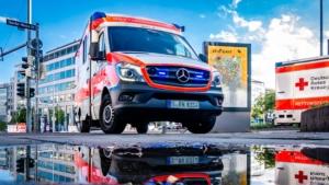 Bild von einem Krankenwagen
