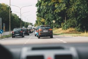 Bild von Autos auf der Straße