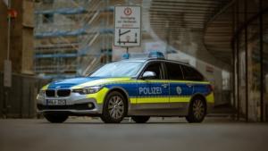 Bild von einem Polizeiauto