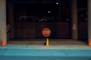 Bild von einem Stopschild